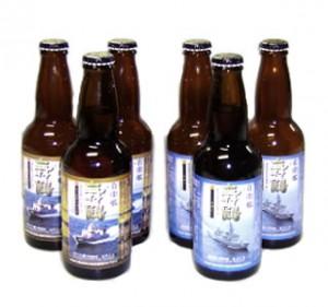 舞鶴ビール6本入りセット(あぶくま3本・はやぶさ3本)